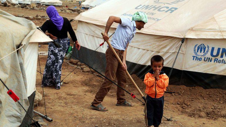 Réfugiés Yézidis
