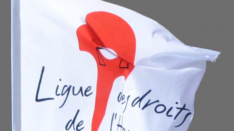 drapeau ligue des droits de l'homme
