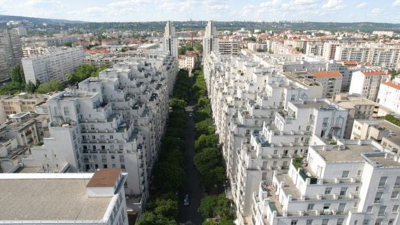 Villeurbanne avenue Henri Barbusse