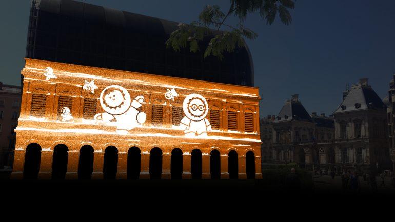 Fête des lumières 2014 Anooki