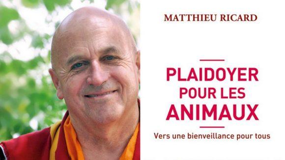 Matthieu Ricard montage couv animaux