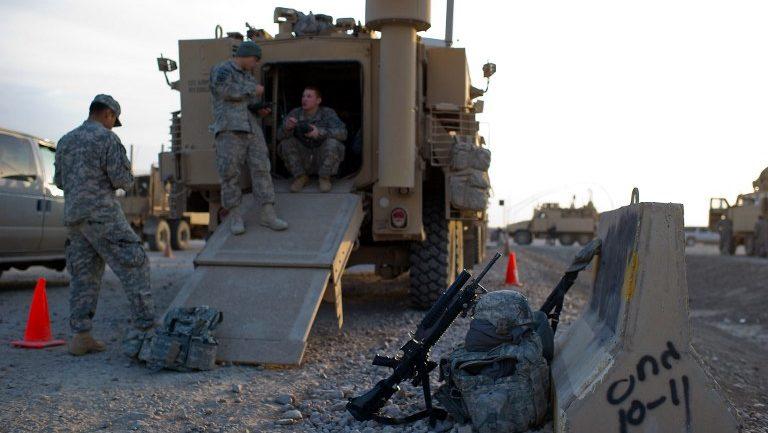 Soldats américains Irak