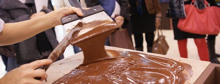 Salon du chocolat.