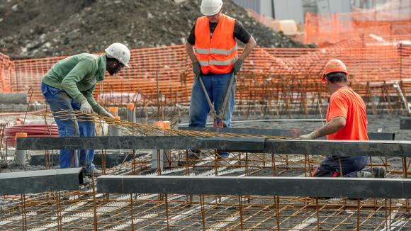 ouvriers bâtiment