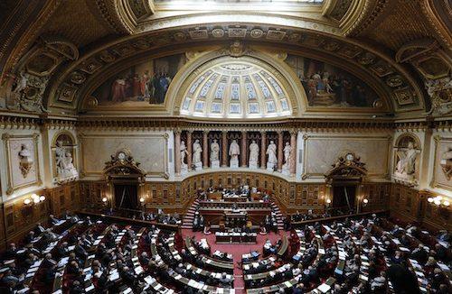 Le Sénat a voté le budget 2015 de la Sécurité Sociale. FRANCOIS GUILLOT / AFP