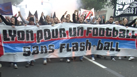 supporters ultras manif