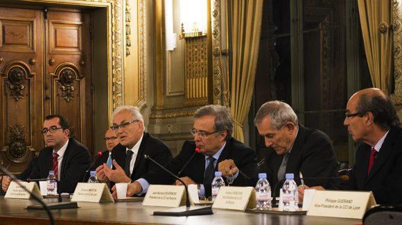 Présentation de la CCi métropolitaine en présence des trois présidents