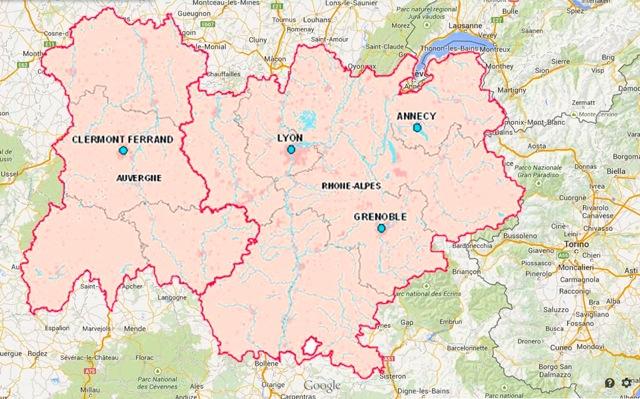Région Rhône-Alpes-Auvergne