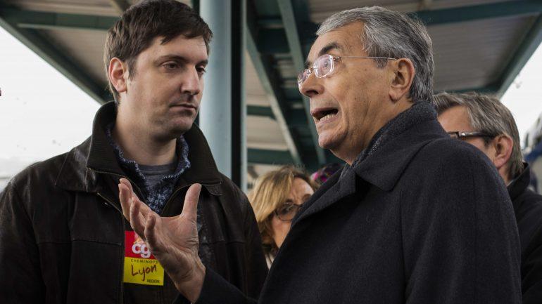 Laurent Brun et Jean-Jack Queyranne