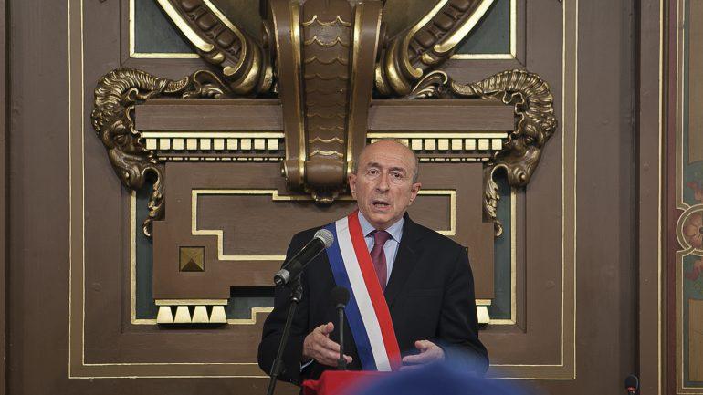Gérard Collomb au Conseil Municipal