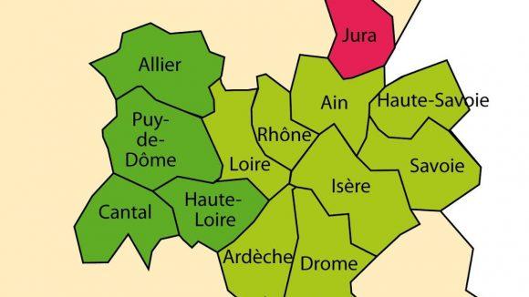 Le Jura ne veut pas de Rhône-Alpes