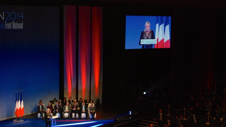 Marine Le Pen Congrès FN nov 2014