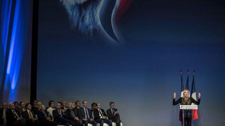 Congrès FN 2014 Lyon Marine Le Pen