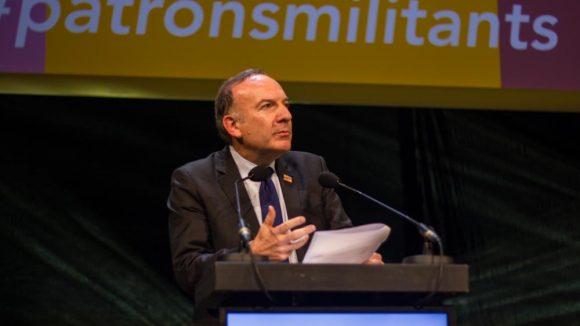 Pierre Gattaz Lyon déc 2014