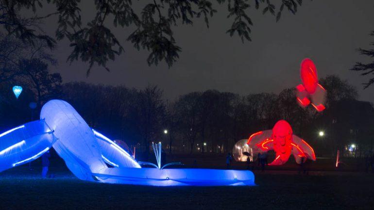 Fête des Lumières 2014 parc Tête-d'Or