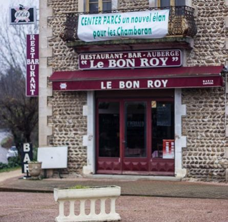 "bar-restaurant ""Le Roy"" à Roybon"