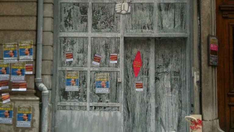 Fédération PS Rhône vandalisée