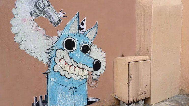 Agrume street art