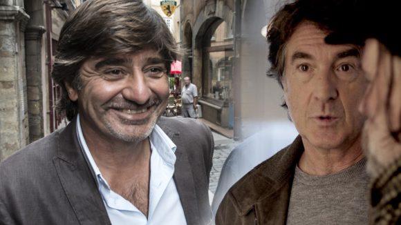 Francois Cluzet et Michel Neyret © photomontage