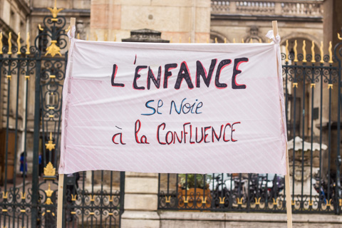 Internat Favre Manifestation