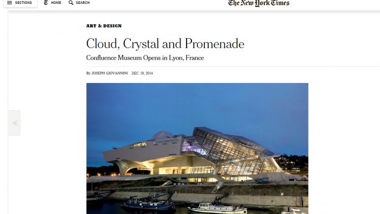 musée des confluences New York Times