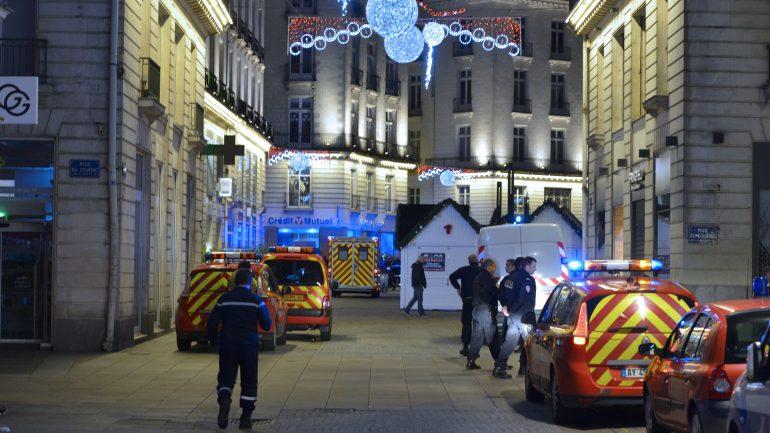 Nantes marché de Noël