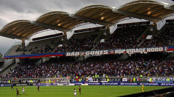 stade Gerland tribunes
