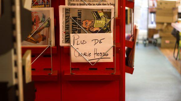 Kiosque Lyon Charlie Hebdo