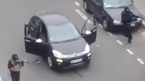 Deux terroristes dans l'attaque de Charlie Hebdo