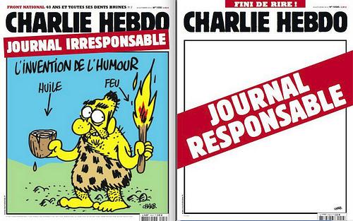 double Une Charlie Hebdo