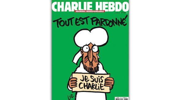 Charlie Hebdo une 14 janvier 2015 home