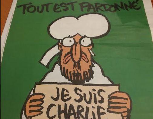 Charlie Hebdo 14 janvier 2015 détail une