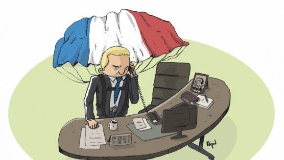 Alexandre Vincendet Caricaturé