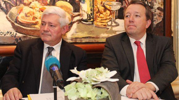 Bruno Gollnisch et Christophe Boudot