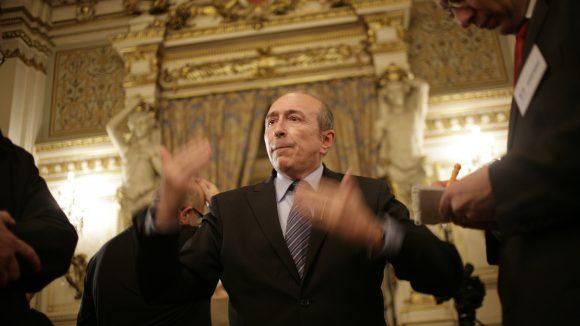 Gérard Collomb à la préfecture du Rhône