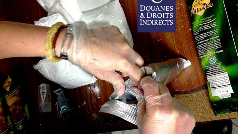 Cocaïne sachets culinaires Douanes
