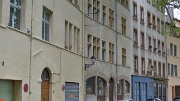 l'immeuble où a été retrouvé le corps de la vitime