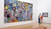 Retrospective Erro au musée d'art contemporain