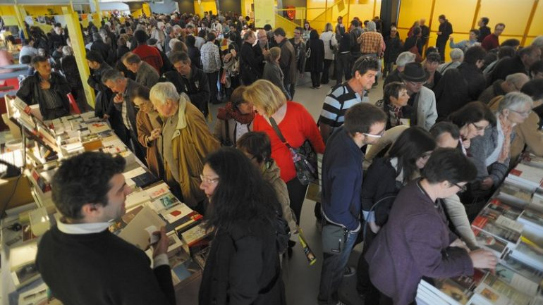 Fête du livre de Bron librairie 2012