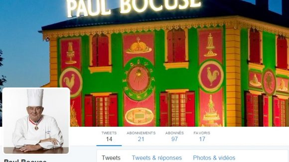 Paul Bocuse sur Twitter