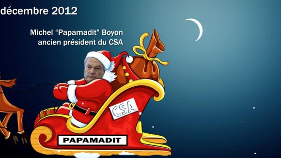 Michel Boyon père Noël