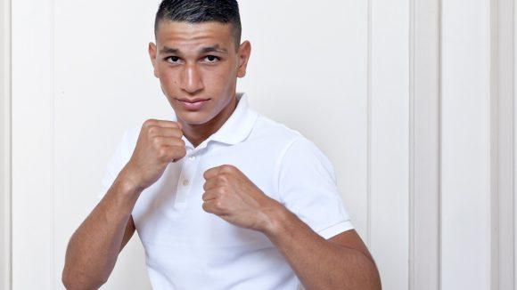 Le boxeur Djessim Boulefkhad