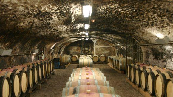 Cave dans le Beaujolais