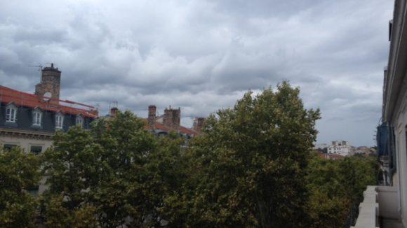 Météo - du vent à Lyon