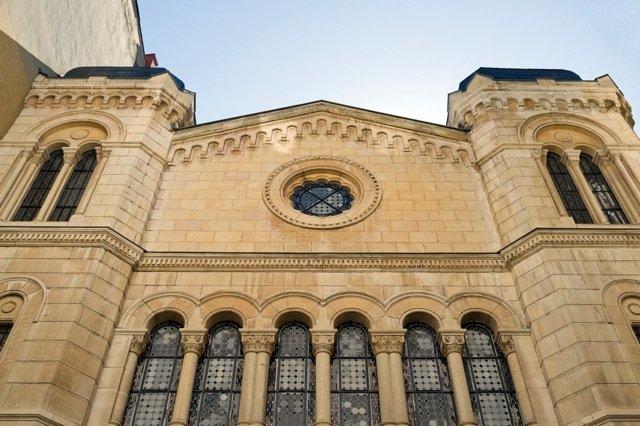La synagogue de Lyon