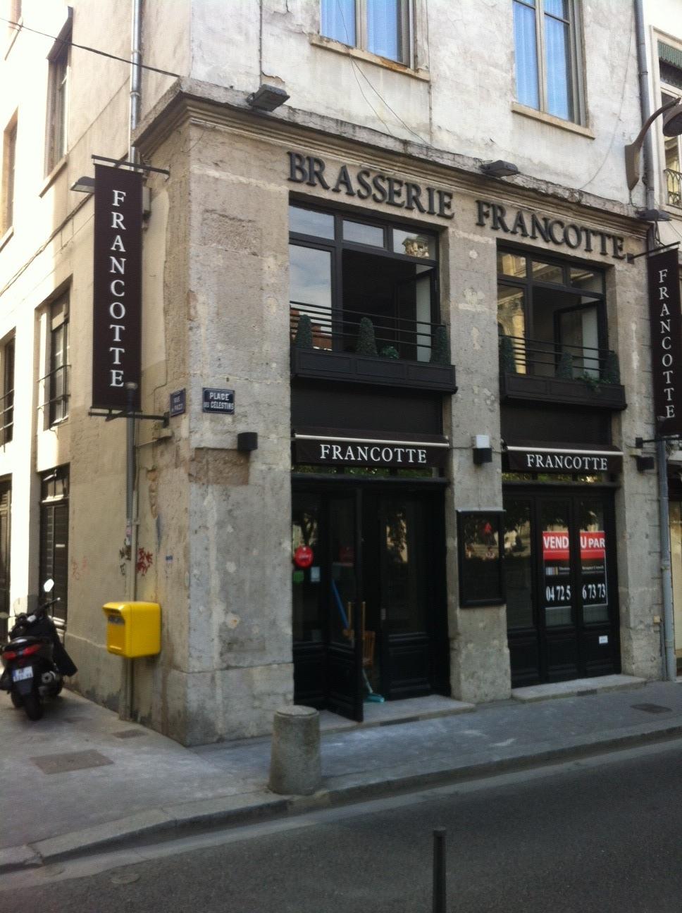 Le restaurant Francotte devient la Brasserie Chavant |