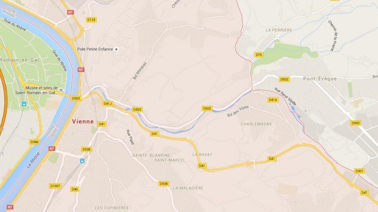 Vienne Pont-Evêque route D41