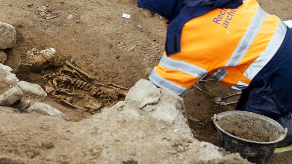 fouille archéologique nécropole fourvière © Tim Douet_0033