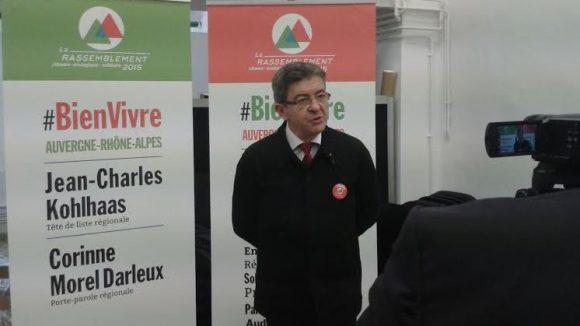 Jean-Luc Mélenchon à Lyon