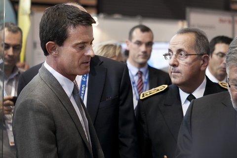Manuel Valls et Michel Delpuech